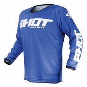 Shot Devo Raw MX Jersey Blue